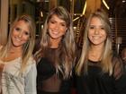 Gêmeas do 'BBB 15' e Fani Pacheco vão a espetáculo no Rio