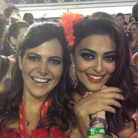 Carol Sampaio e Juliana Paes estarão juntas no Bloco da Favorita (Foto: Divulgação)