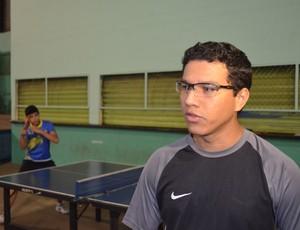 Rafael Martins, da Associação de Tênis de Mesa (Foto: Lauane Sena)