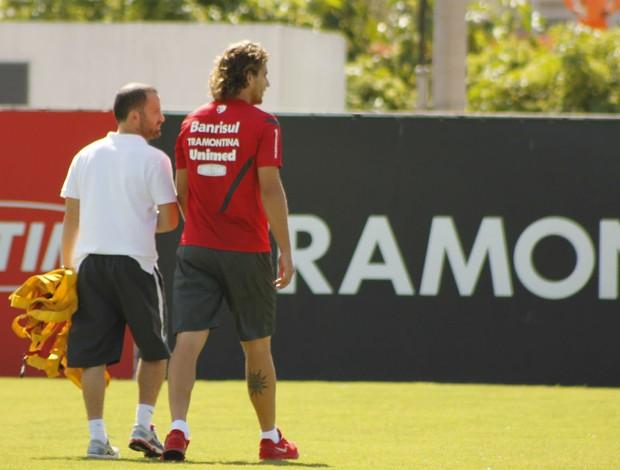Rafael Moura, atacante do Inter (Foto: Diego Guichard)