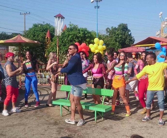 Naldo lança clipe para o single Meu Bem (Foto: Divulgação)