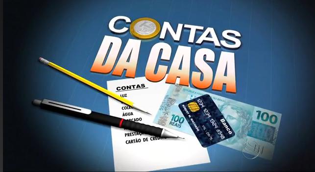 Contas da Casa (Foto: Arte/ TV Sergipe)