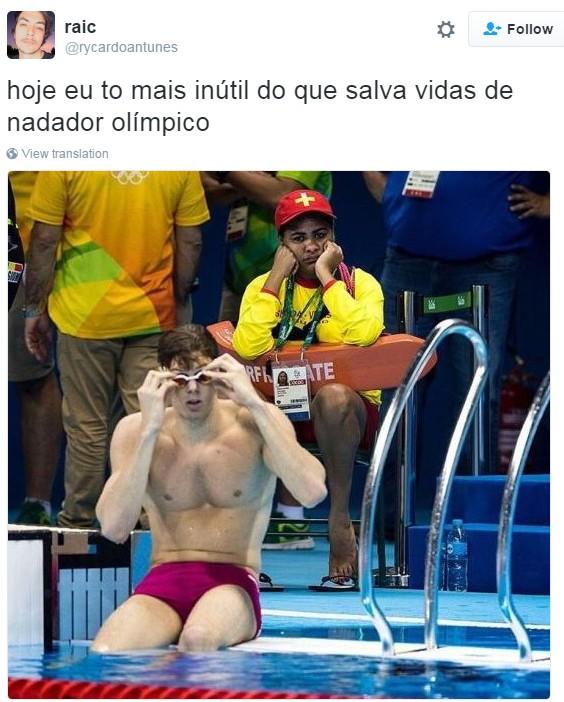 meme primeiro fim de semana olimpíada 8 (Foto: Reprodução/Twitter)
