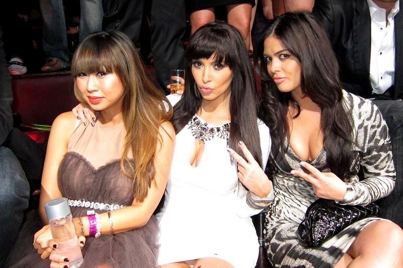 Kim e amigas (Foto: Reprodução)