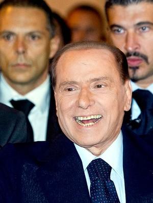 Silvio Berlusconi, ex-primeiro ministro da Itália (Foto: AP)