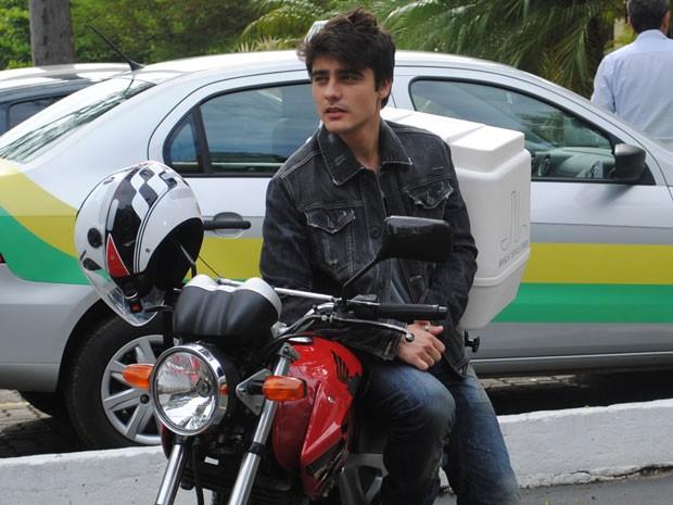 Atenção, meninas! O galã Guilherme Leicam está solteiro!!! (Foto: Malhação / Tv Globo)