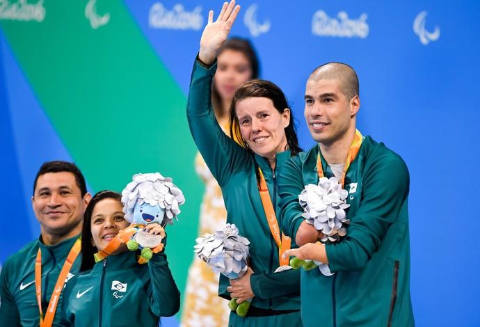 Revezamento Brasil Susana (Foto: Ag Estado)