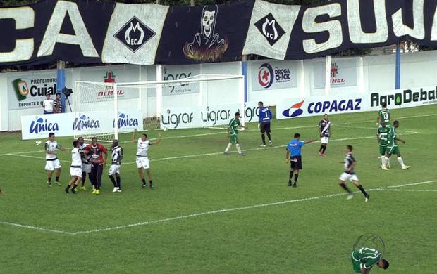 Mixto vence Cuiabá por 1 a 0 na final do Mato-grossense (Foto: Reprodução/TVCA)