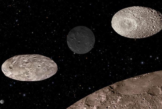 Plutão e suas luas