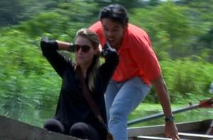 Marone insiste e consegue dar susto em Alfradique; vídeo (Domingão do Faustão / TV Globo)