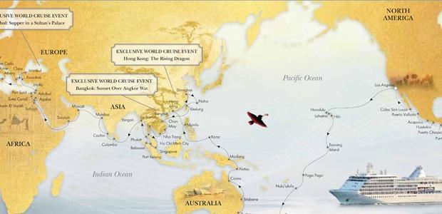Mapa volta ao mundo (Foto: Divulgação)