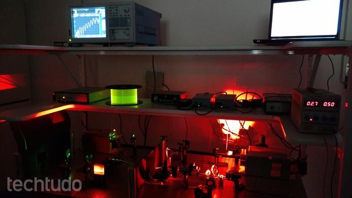 laboratório grafeno (Foto: Viviane Werneck/TechTudo)