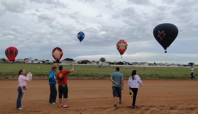 Campeonato de Balonismo em Rio Claro (Foto: Divulgação)