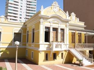 Casa da Cultura em Uberlândia (Foto: Divulgação/Secom/PMU)