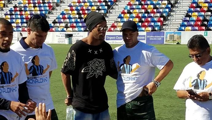 Harison e Ronaldinho Gaúcho (Foto: Arquivo pessoal)
