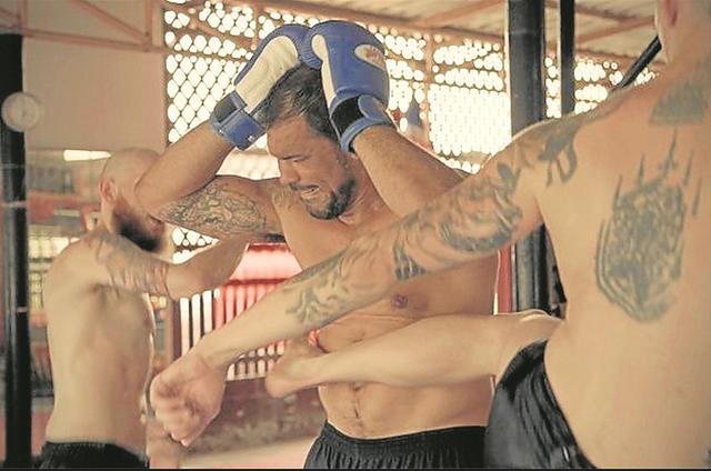 Rodrigo Minotauro apresenta 'Viver para lutar', no canal Combate (Foto: Divulgação)
