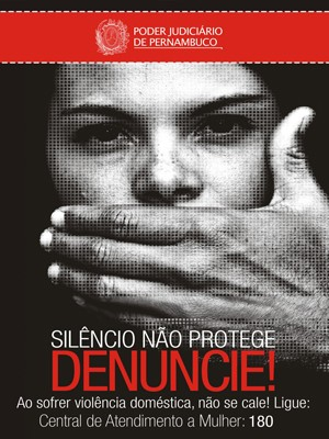 Ônibus do Grande Recife vão circular até o dia 15 de setembro com cartazes da campanha (Foto: Divulgação/TJPE)