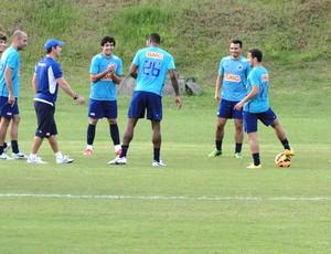 treino do Cruzeiro em Salvador (Foto: Marco Antônio Astoni)