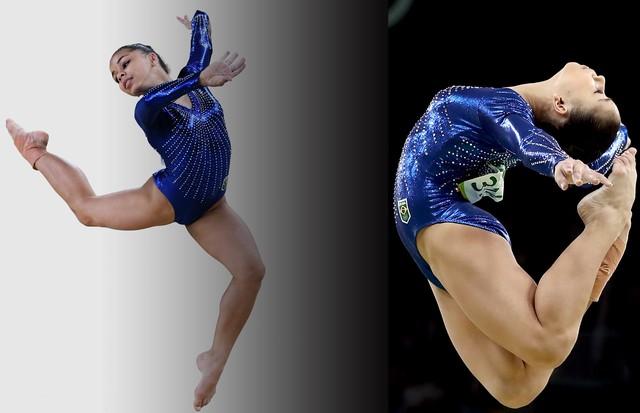 A ginasta Flávia Saraiva, da equipe brasileira (Foto: Getty Images)
