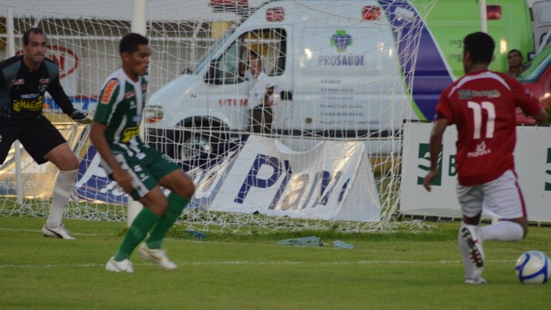 Sergipe disputa semifinal com Confiança (Foto: Felipe Martins/GLOBOESPORTE.COM)
