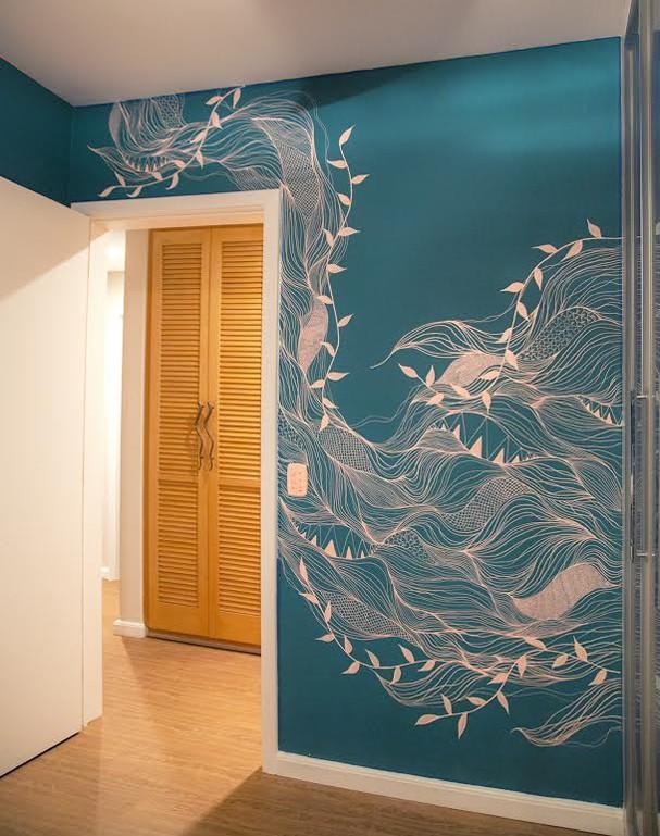 Arte nas paredes (Foto: Divulgação)
