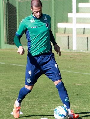 Fred - zagueiro Goiás (Foto: Rosiron Rodrigues / Goiás E.C.)