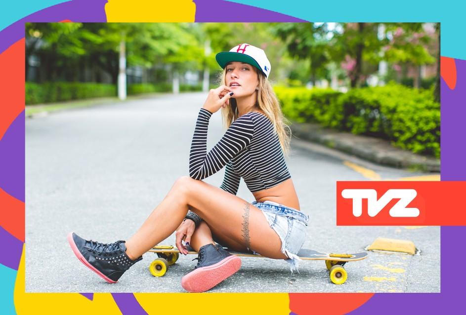 Gabriela Pugliesi comanda o TVZ Ao Vivo nesta quarta (21) (Foto: Divulgao/Multishow)