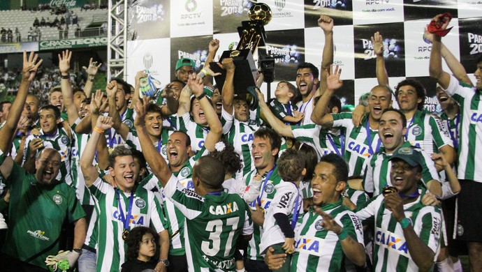 Coritiba Campeão Taça (Foto: Joka Madruga/Agência Estado)