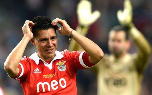 Enzo Perez derrota Benfica final Liga Europa Chelsea (Foto: Reuters)
