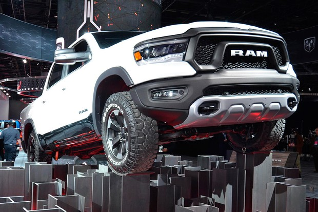 RAM 1500 no Salão de Detroit 2018 (Foto: Newspress)