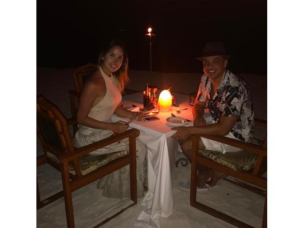 Wesley Safadão e a mulher, Thyane Dantas (Foto: Reprodução/ Instagram)