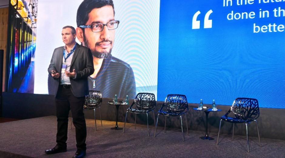 Fábio Andreotti, diretor de Google Cloud Plataform do Google Brasil (Foto: Filipe Oliveira)