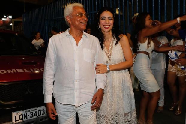 Paulinho da Viola e Marisa Monte (Foto: Marcos Serra Lima / Ego)