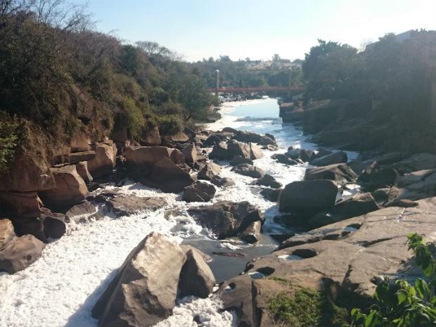 Limpeza do rio Tietê deve passar por nova etapa (Foto: Ana Carolina Levorato/G1)