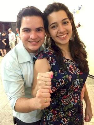 Rodrigo e Raquel namoram desde 2010 (Foto: Arquivo pessoal)