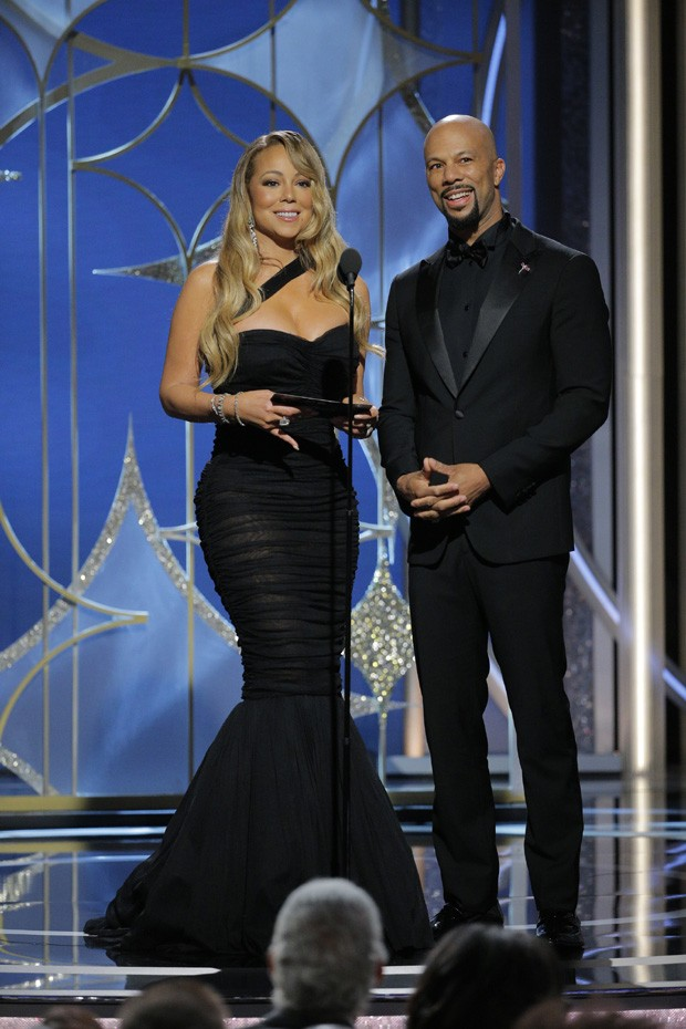 Mariah Carey e Common (Foto: Getty Images)
