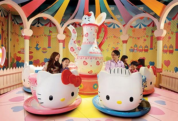 Parque da Hello Kitty será o primeiro e maior lugar temático do desenho fora do Japão (Foto: Divulgação)