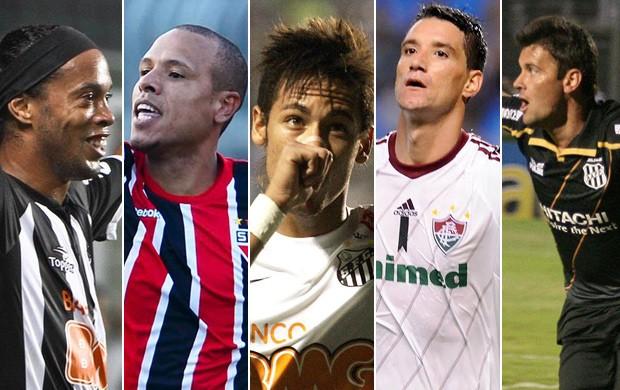 Montagem gol mais bonito É Gol 19ª rodada (Foto: Montagem SporTV)