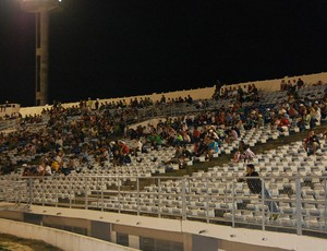 Torcida Estádio Amigão Queimadense X Sport Campina (Foto: Silas Batista / GloboEsporte.com/pb)