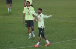 Seleção Brasileira treino (Foto: Bruno Domingos / Mowa Press)