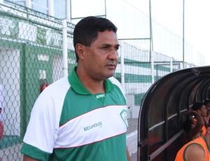Flávio Barros, técnico do Alecrim (Foto: Canindé Pereira/Divulgação)