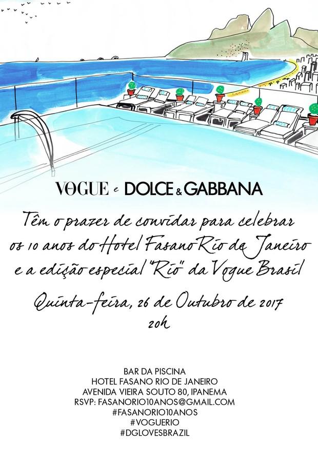 Vogue e Dolce & Gabbana (Foto: Divulgação)