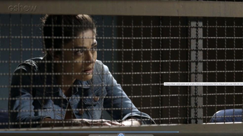 Bibi fica decepcionada com Rubinho. Sério que você nunca desconfiou?  (Foto: TV Globo)