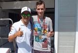 """""""Fã número 1"""" de Massa, húngaro viaja 700km para conhecer ídolo: """"Sonho"""""""