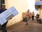 Locais de votação recebem urnas eletrônicas em Rio Preto