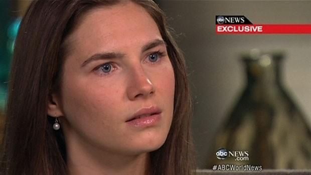 Amanda Knox voltou aos EUA após libertação e poderá ser julgada novamente à revelia (Foto: BBC)