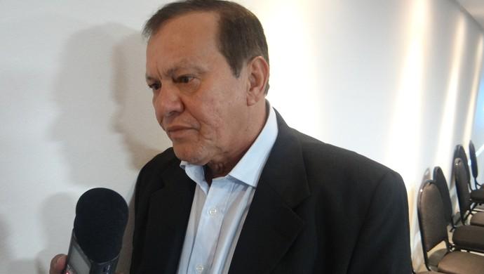 Rafael Tenório, presidente do CSA (Foto: Leonardo Freire/GloboEsporte.com)