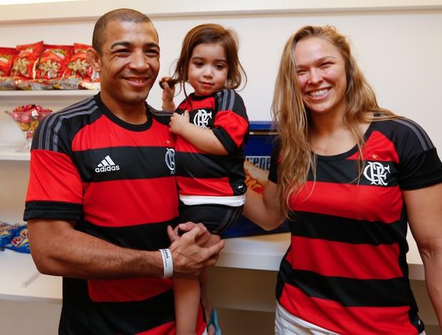 Ronda Rousey José Aldo MMA Flamengo Maracanã UFC