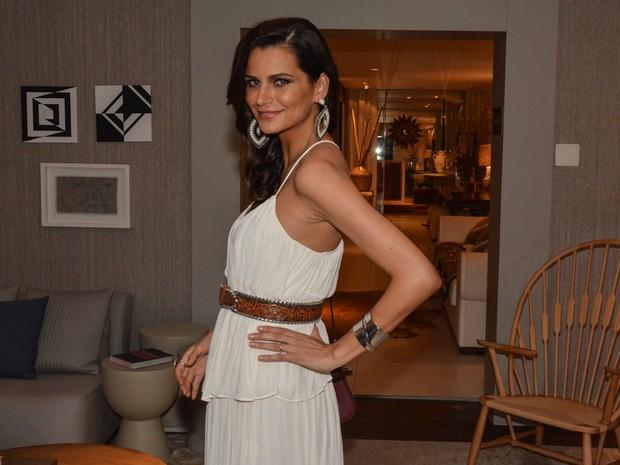 Fernanda Motta em evento em São Paulo (Foto: Caio Duran/ Ag. News)