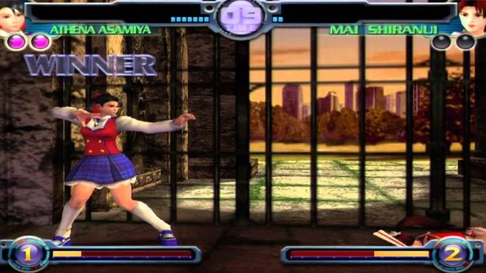 Os belos modelos 3D de The King of Fighters Maximum Impact (Foto: Reprodução/YouTube)